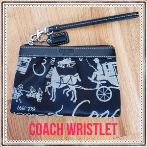 Coach wristlet ( horse and carriage)